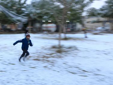 Salju Turun di Baghdad