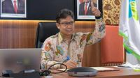Penandatanganan MoU tentang Surveilans Genom Virus Sars-CoV-2 oleh Menteri Kesehatan RI Budi Gunadi Sadikin dan Menristek Bambang Brodjonegoro pada 8 Januari 2021. (Dok Kementerian Kesehatan RI)