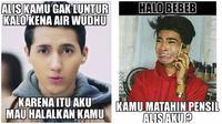 Meme Kocak Saat Bikin Alis Mata Ini Bikin Tepuk Jidat (sumber:Instagram/memeIndonesia)