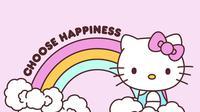 Hello Kitty. Dok: Twitter @hellokitty