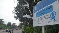 Kamera CCTV dipasanga di Jembatan Ranu Grati dan dua jembatan lain di Kota Malang, Jawa Timur (Liputan6.com/Zainul Arifin)