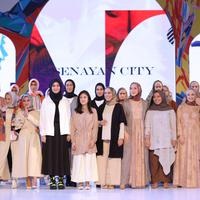 Fashion Nation mengusung tema Modern Modest untuk para desainer ready to wear. (Foto: Fimela.com/Daniel Kampua)