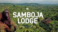Penginapan ksklusif Samboja Lodge yang ada di tengah hutan Kalimantan. (credit: Nala Rinaldo).