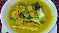 Tempoyak ikan patin menjadi salah satu menu favorit warga Jambi. (Bangun Santoso/Liputan6.com)