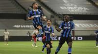Inter Milan kalahkan Shakhtar Donetsk 5-0 di partai semifinal Liga Europa/AP