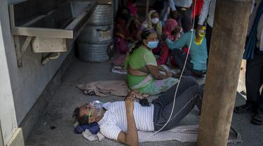 India Kekurangan Oksigen Diterjang Badai Covid-19