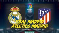La Liga - Real Madrid Vs Atletico Madrid (Bola.com/Adreanus Titus)