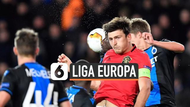 Pertandingan Liga Europa antara Manchester United dan Club Brugge Jumat (21/2) dini hari berakhir imbang 1-1. MU harus menangi pertandingan leg kedua jika ingin lolos ke babak selanjutnya.