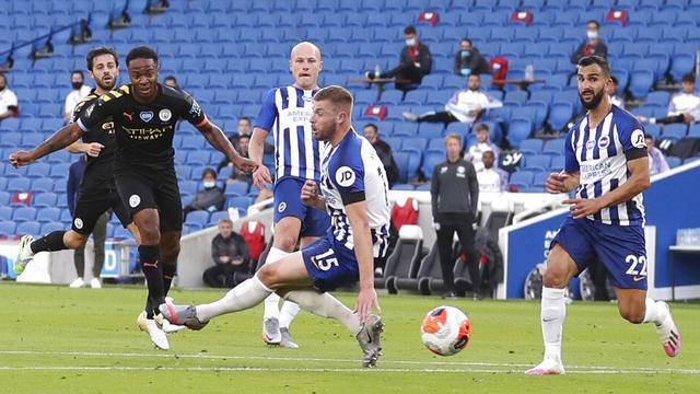 Manchester City Sikat Brighton 5 0 Raheem Sterling Buat Rekor Unik Bola Liputan6 Com