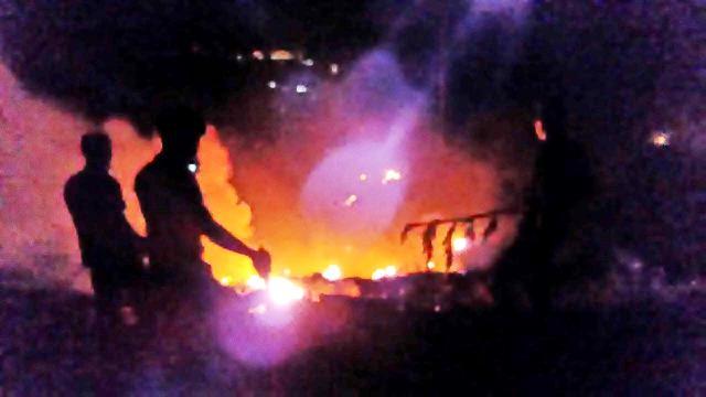 Foto Asap Mengepul dari Penggorengan di FX Sudirman, Pengunjung Berhamburan