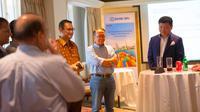 General Manager BRI New York Agency (BRINYA) Tri Hartono di 2019 US Cotton Special Trade Mission from Indonesia Reception.