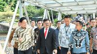 Menteri Pertanian Kabinet Indonesia Maju, Syahrul Yasin Limpo menargetkan dalam 100 hari kerja akan memetakan data pertanian.