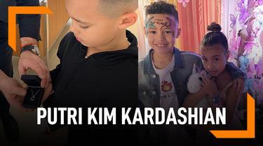 Kalung Mewah Untuk Putri Kim Kardashian