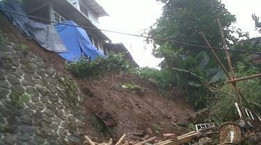 Tanah Longsor di Kota Bogor