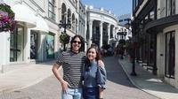 Liburan Maia Estianty Ke Los Angeles Bersama Suami dan El Rumi (Sumber: YouTube/MAIA ALELDUL TV)
