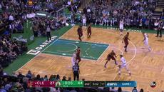 Berita video game recap NBA 2017-2018 antara Boston Celtics melawan Cleveland Cavaliers dengan skor 108-83.