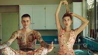 Hailey Baldwin dan Justin Bieber (dok. Instagram @haileybieber/https://www.instagram.com/p/BtlmrFuFTVH/Putu Elmira)