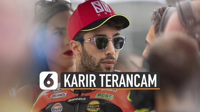Usaha banding Iannone seakan mematikan karirnya sendiri di dunia balap.