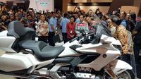 Jokowi Ingin Honda Gold Wing Dipakai Paspampres (Herdi/Liputan6.com).