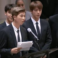 BTS hadir di Sidang Umum PBB memberikan pidato dalam peluncuran UNICEF 'Generation Unlimited'. (Foto: Soompi)