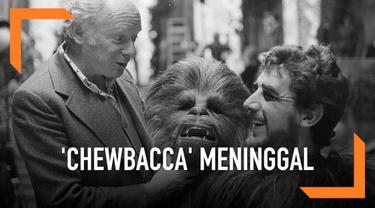 Peter Mayhew, pemeran pertama tokoh Chewbacca meninggal. Rasa duka menyelimuti para pemain dan pengggemar Star Wars.