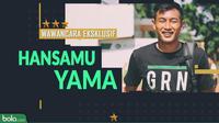 Wawancara Eksklusif Hansamu Yama (Bola.com/Adreanus Titus)