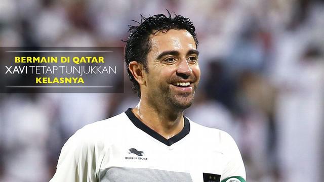 Mantan gelandang Barcelona yang kini berseragam Al Sadd tetap menunjukkan kelasnya ketika bermain di Liga Qatar