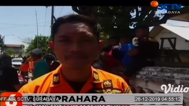 Tubuh M Mujib (18) warga Desa Curahlele Kecamatan Balung, Jember yang terseret ombak Pantai Payangan akhirnya ditemukan, Rabu (25/12/2019) Mujib ditemukan dalam keadaan meninggal dunia.