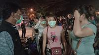 Ratusan pekerja migran atau TKI di Malaysia dideportasi. (Foto: LIputan6.com/Aceng Mukaram)