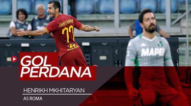 Berita video Henrikh Mkhitaryan mencetak gol perdana untuk AS Roma pada pertandingan pertamanya di Serie A, Minggu (15/9/2019).