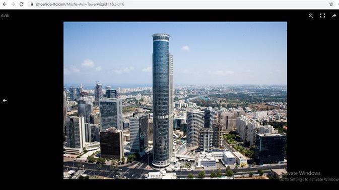 Gambar Tangkapan Layar Foto dari Situs phoenicia-ltd.com