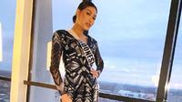 Frederika Alexis Cull di karantina Miss Universe 2019. (dok. Instagram @frederikacull/https://www.instagram.com/p/B5gaodNlPka/Putu Elmira)