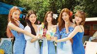 Single Power Up dari Red Velvet berhasil menuai rekor.