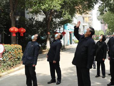 Xi Jinping Sambangi Wuhan