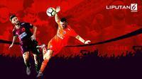 Banner Infografis Persija atau PSM Makassar Juara Liga 1 2018? (Liputan6.com/Abdillah)