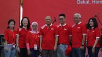 Festival SRC Indonesia 2019 yang menghadirkan lebih dari 3.000 pelaku UKM termasuk toko kelontong di Parkir Timur Gelora Bung Karno, Senayan Jakarta.
