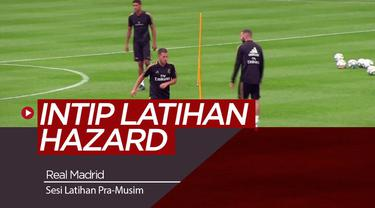 Berita Video Berita Video Mengintip Latihan Real Madrid Jelang Tur Pramusim, Ada Hazard dan Gareth Bale