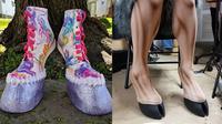 Wanita Ini Bikin Sepatu Berbentuk Kaki Hewan, 6 Karyanya Bikin Takjub (sumber: Boredpanda)
