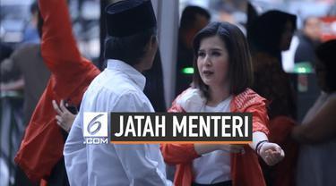 Ketua umum Partai Solidaritas Indonesia Grace Natalie angkat bicara terkait rencana kabinet yang akan disusun Presiden Joko Widodo. Ia menegaskan PSI tidak minta-minta jatah menteri kepada Jokowi.