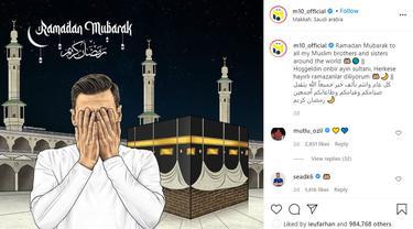 Mesut Ozil - Ramadhan