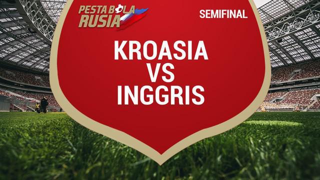 Timnas Inggris tersingkir dari gelaran Piala Dunia 2018 usai kalah dari Kroasia dengan skor 1-2.