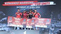 Inilah para pemenang Komando Warriors yang diselenggarakan Kopassus dalam rangka HUT ke-67 (Liputan6.com/Cakrayuri Nuralam)