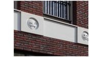 Gedung Apartemen Gunakan 22 Emoji (Sumber: attika.nl)