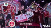 Momen-Momen Saat Faul Lida Menjadi Juara 1 D'Academy Asia 5 2019. sumberfoto: Indosiar