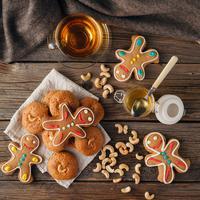 Ilustrasi kue jahe. Sumber foto: Shutterstock.