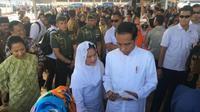 Presiden Jokowi kunjungan kerja di Magetan, Jawa Timur (Foto: Dok Kementerian BUMN)