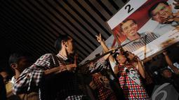 Jokowi menegaskan, kemenangan di Solo dapat diraih jika semua pendukung mengajak warga lain untuk memberikan dukungan kepadanya (Liputan6.com/Herman Zakharia).