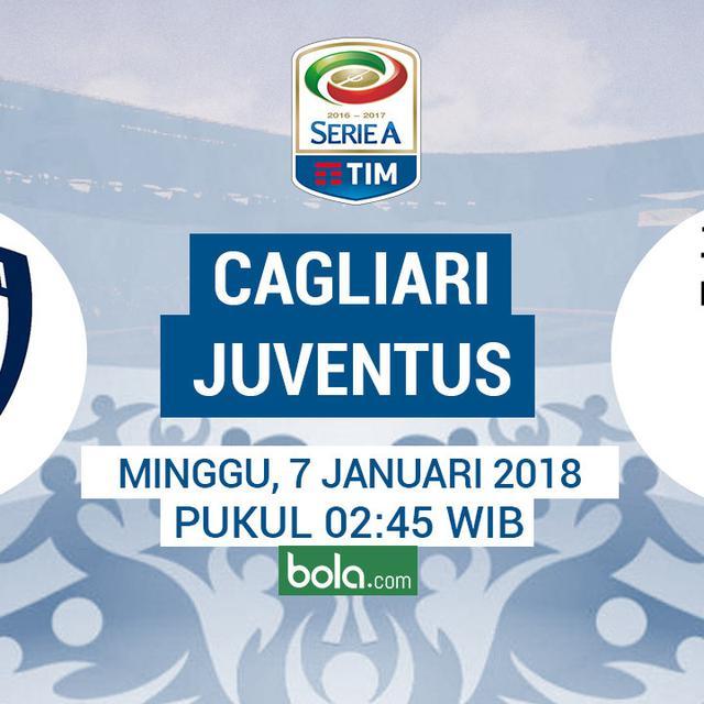 Starting Lineup Cagliari Vs Juventus Bola Liputan6 Com