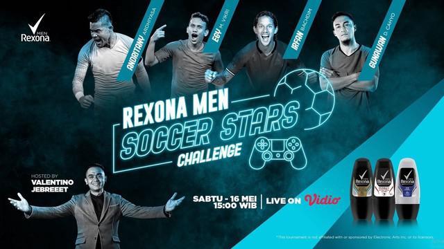 Berita video pertandingan pertama Rexona Men Soccer Stars Challenge antara Irfan Bachdim melawan Andritany, yang berakhir dengan skor 3-1, pada Sabtu (16/5/2020).