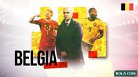 Piala Eropa 2020 - Profil Tim Belgia (Bola.com/Adreanus Titus)
